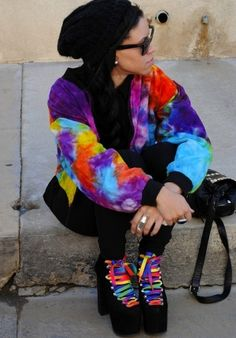 #inspiration, #tiedye, #grunge
