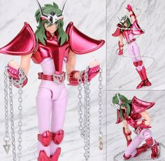 Saint Seiya Myth Cloth EX Andromeda Shun New Bronze Action Figure Bandai Japan