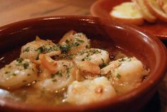 This delicious gambas al ajillo recipe is the perfect Spanish tapa. These Spanish garlic shrimp are quick and easy to prepare and always a big hit!