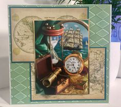 Nautical Little Book Demo for Create and Craft
