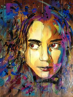 "C215 by C215. Folllow him here on Flickr. C215, is the moniker of Christian Guémy, a French street artist hailing from Paris who has been described as ""France's answer to Banksy"".[1] C215 primarily uses stencils to produce his art. His first stencil work was put up in 2006, but he has been a graffiti artist for (as of 2011) over 20 years"