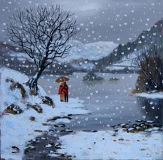 We Love The Snow And Rydal Water
