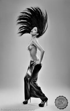 Model: Karolena Kat (aka Karolena Kitten)  Photographer: Richard Knightly