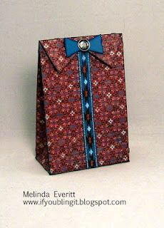 paper bag by Melinda Everitt... (8.22.12 - it's not on her blog so I pinned from here)