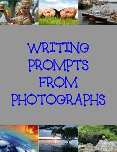 Spark up your students writing and inspire them to write using real life photographs.  There are 30 photographs on separate pages with lined spaces...