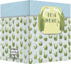 Best wishes lily of the valley greeting card. Blank inside. Available wholesale or retail:   http://www.violetcottage.com/bestwishes/48-best-wishes-blank-inside-wedding-or-congrats-lily-of-the-valley.html