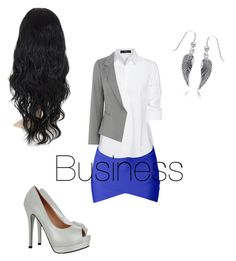 """""""Business"""" by afashionfangirl230 ❤ liked on Polyvore featuring Steffen Schraut, Oasis and Bling Jewelry"""