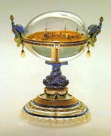 UN ABRIL ENCANTADO: Huevos de Fabergé...más que joyas para el zares de Rusia...