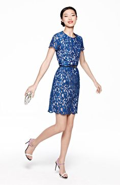 Scalloped Lace Dress http://rstyle.me/n/d3ghyq7cw