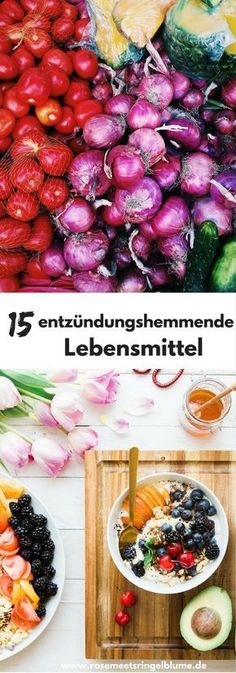 From pineapple to blueberry: 15 anti-inflammatory foods .- Von Ananas bis Blaubeere: 15 entzündungshemmende Lebensmittel From pineapple to blueberry: 15 anti-inflammatory foods - Natural Remedies For Bloating, Natural Add Remedies, Natural Healing, Herbal Remedies, Natural Treatments, Natural Oil, Bloating Remedies, Holistic Healing, Cold Remedies