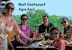 "Agua Azul won for Best Restaurant in ""The Best of Manuel Antonio 2012."" To read more about all the winners Click Here http://www.amazon.com/dp/B008LFC6J0 $2.99."