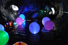 Kid Inspiration - All for the Boys - Fort Friday! glow in the dark bubble fort