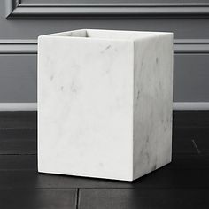 Carve out a neat spot in the bath. Honed smooth, marble bath accessories rock a spa vibe in soft white with naturally occurring swirls of grey. marble bath accessories is a exclusive. Modern Bathroom Accessories, Bath Accessories, Green Marble, Black Marble, White Lacquer Desk, Metro White, Carrara Marble Bathroom, Black Bath Mat, Steel Bath
