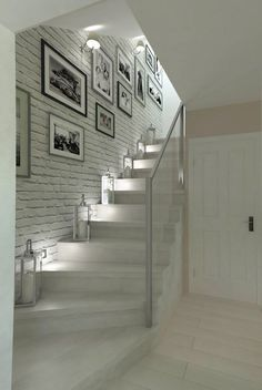 hallway decorating 140807925838251611 - Trendy basement stairs lighting ideas Ideas Source by apaudreyprice Home Stairs Design, Home Interior Design, House Design, Basement Stairs, House Stairs, Basement Ideas, Hallway Ideas, Hallway Decorating, Interior Decorating