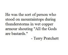 This reaches me on a deep and personal level. Book Quotes, Me Quotes, Funny Quotes, Terry Pratchett Quote, Book Of Life, Writing Prompts, Quotations, Books To Read, Literature