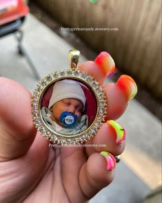 Add any photo can be done Custom Jewelry, Pendant, Children, Handmade, Accessories, Young Children, Boys, Hand Made, Personalized Jewelry