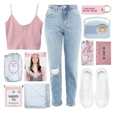 """""""most girls work hard, go far, we are unstoppable"""" by shannonmarie-xo ❤ liked on Polyvore featuring Topshop, Anine Bing, CASSETTE, Acne Studios, Various Projects and Fresh"""