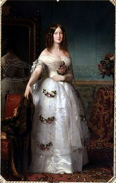 Eugenia de Montijo (1785-1939), Countess of Teba, was a the last empress of the french after marrying Prince Louis Napoleon, who was president of the Second Republic. She was a glamorous figure who loved jewels and was a conservative Catholic. Her husband famously said he did not love her but married her for a strong alliance instead. After the Franco-Prussian war, they and their son sought refuge in England. She outlived them both.
