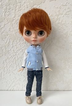Excited to share the latest addition to my #etsy shop: Custom Blythe doll OOAK TBL boy Blythe Dolls For Sale, Art Dolls, Carving, Etsy Shop, Trending Outfits, Unique Jewelry, Handmade Gifts, Kid Craft Gifts, Wood Carvings