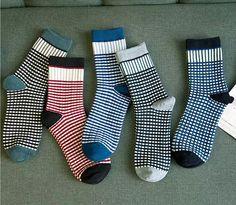 Popular Houndstooth Socks Men-Buy Cheap Houndstooth Socks Men lots ...