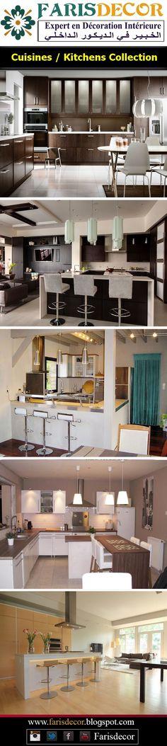Cuisines - Kitchens design 2018 #House #interior #plafond