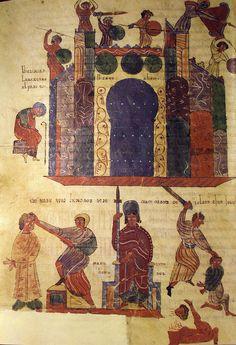 The Siege of Jerusalem, Valcavado Beatus Codex, Beatus of Liébana, Spain