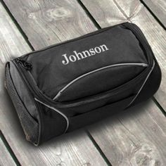 Personalized Canvas Men's Travel Toiletry Bag - Canvas Shaving Kit - Personalized Shaving Kit - Gifts for Him - Groomsmen Gifts - Personalised Gifts For Him, Personalised Canvas, Personalized Items, Personalized Wedding, Customized Gifts, Travel Necessities, Travel Toiletries, Travel Essentials, Canvas Travel Bag