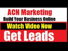 This video explains how you can take your ACN business to the next level and leverage online marketing for more leads and sales.