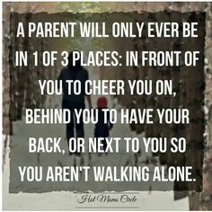 A parent will only ever be in 1 of 3 places: