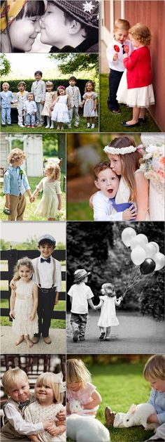 Praise Wedding » Wedding Inspiration and Planning » 38 Cute Flower Girls & Ring Bearers