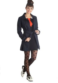Ferry and Square Coat, #ModCloth