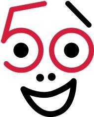50. Geburtstagsshirt: geburtstag_50_a2_2fbg 50th Birthday, Birthday Wishes, Happy Birthday, Rockabilly Fashion, My Mom, Birthdays, Symbols, Letters, Kids