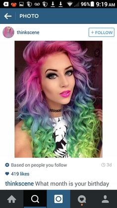 I fricken love her hair omg