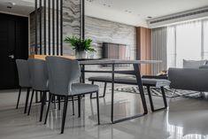 black angel Deco Design / Guan Pin on Behance Studio Apartment Layout, Kitchen Room Design, Minimalist Apartment, Black Angels, Japanese Interior, Design Lab, Home And Living, Living Room Designs, Behance