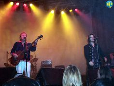 """Jack Bruce & @glennhughes LIVE onstage in UK during """"Legends Of Rock"""" Tour ~ November 2002."""