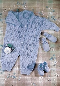 Vintage Littlewoods Baby Knitting Patterns