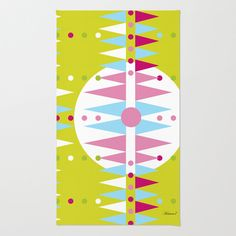 #rug #heaven7 #society6 #geometric #graphic #design Shop for Area & Throw Rugs and adorn your home with both style and comfort. Available in three sizes (2' x 3', 3' x 5', 4' x 6'). Choose from unlimited…