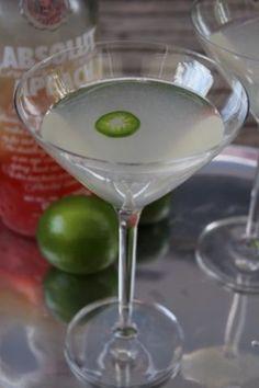 El Chupacabra Martini | drinks. | Pinterest | Martinis