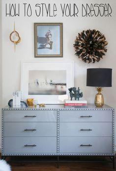 5 Tips For Styling Your Dresser | @eBay