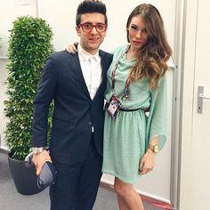 #Repost from @erikabarbato with @ig_saveapp. Non solo una bella voce... #eurovision @barone_piero  #ITA