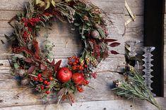 pomegranate+fall+wreath