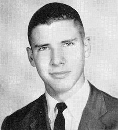 Harrison Ford, Senior Year at Maine East High School, Park Ridge, Illinois (1960)