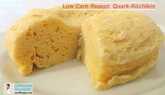 Quark-Küchlein low carb rezept