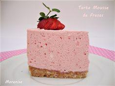 LA COCINA DE MORENISA: Tarta Mousse de Fresas