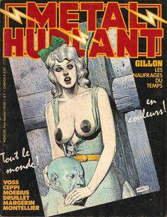 Moebius-Couverturer de Métal Hurlant n°26