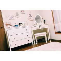"""「女の子の永遠の憧れ""""プリンセスROOM"""" 。簡単、がらっと自分のお部屋を変える!」に含まれるinstagramの画像"""