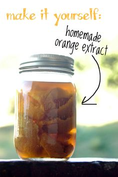 just-making-noise: Make it Yourself: Homemade Orange Extract