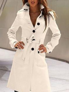 Winter Trench Coat, Winter Overcoat, Trench Coats, Women's Coats, Classic Trench Coat, Cord Jacket, Coatdress, Coat Outfit, Mode Mantel