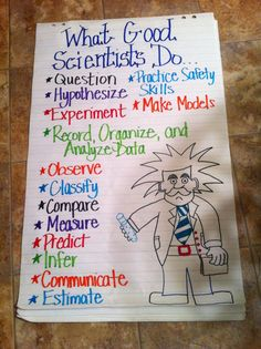 Scientific Inquiry poster I made for my bulletin board!