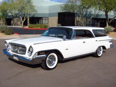 1962 Chrysler New Yorker Station Wagon I'd like to take this fella on a road trip.